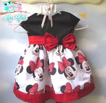 Minnie Mouse Vermelha