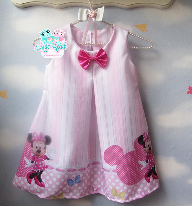 Minnie Mouse Rosa – Modelo Trapézio